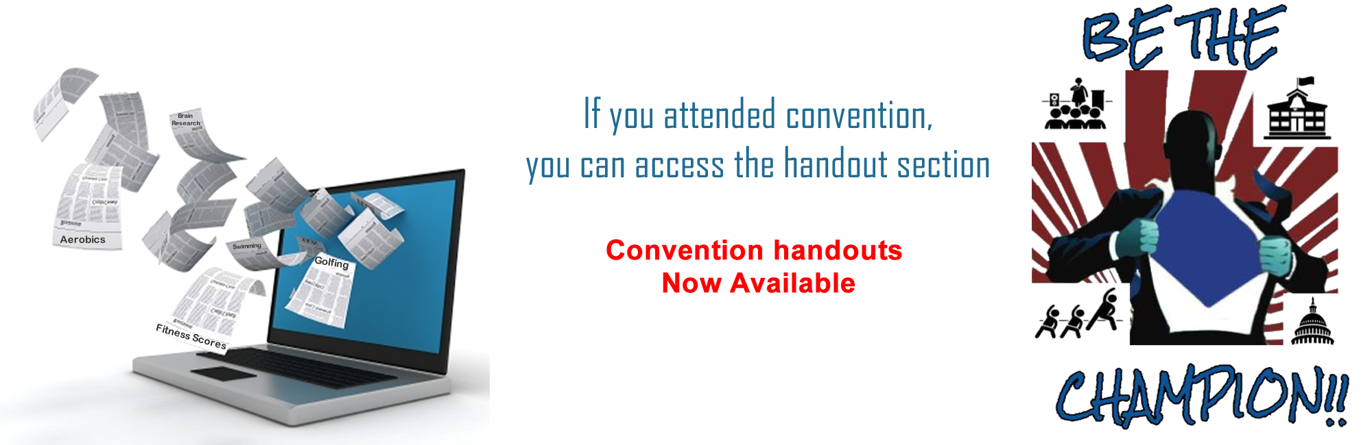 Convention Handouts available
